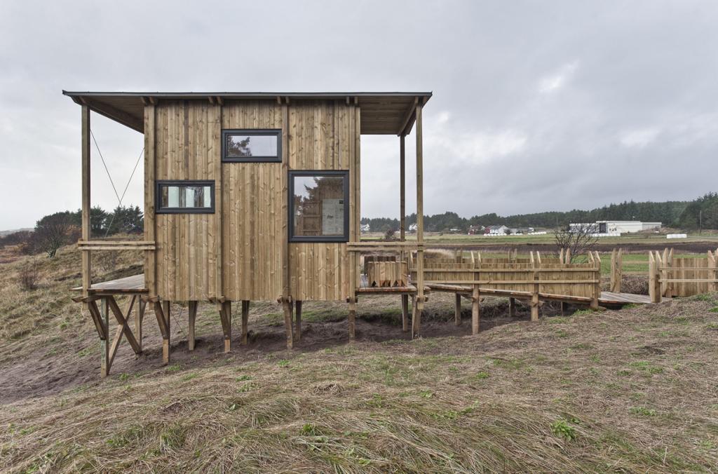 Обзорная кабина на юге Норвегии (12 фото)