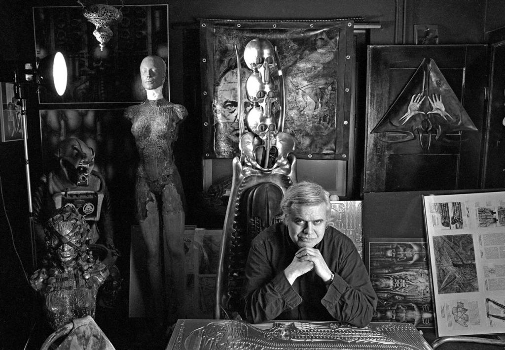 Ганс Рудольф Гигер, создатель «Чужого» (11 фото)