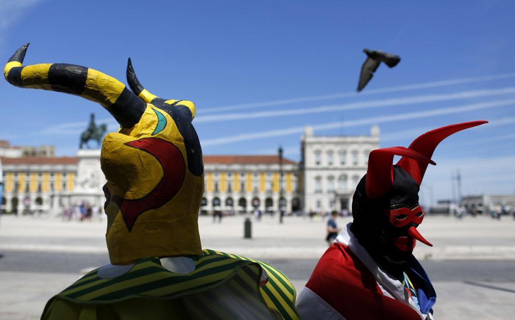 Фестиваль иберийских масок (14 фото)