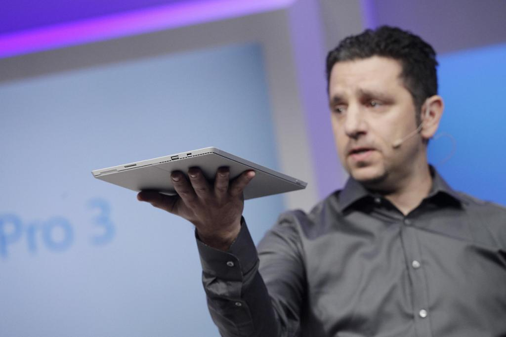 Microsoft презентовала Surface Pro 3 (13 фото)