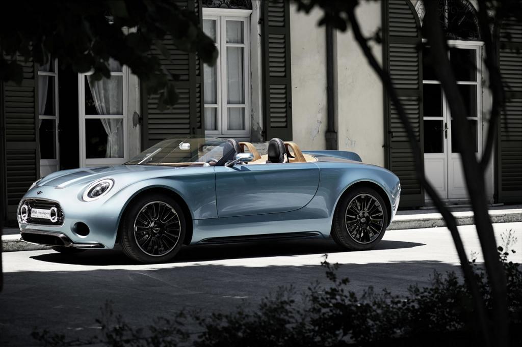 MINI Superleggera Vision Concept. (BMW AG)