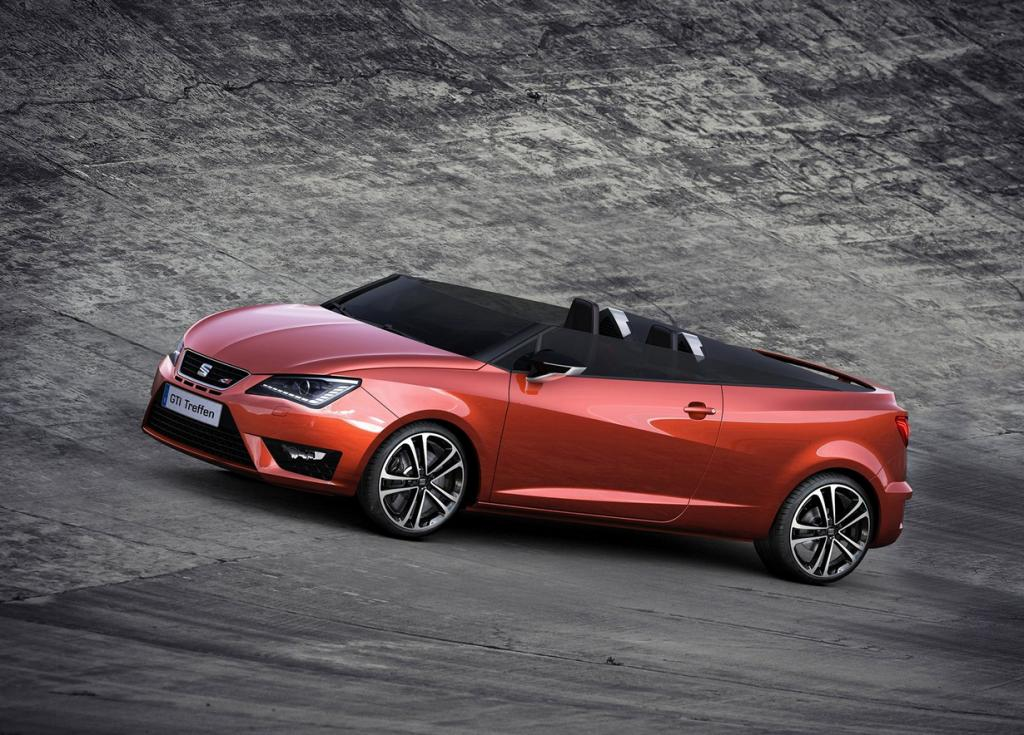 Seat Ibiza Cupster Concept. (SEAT S.A.)