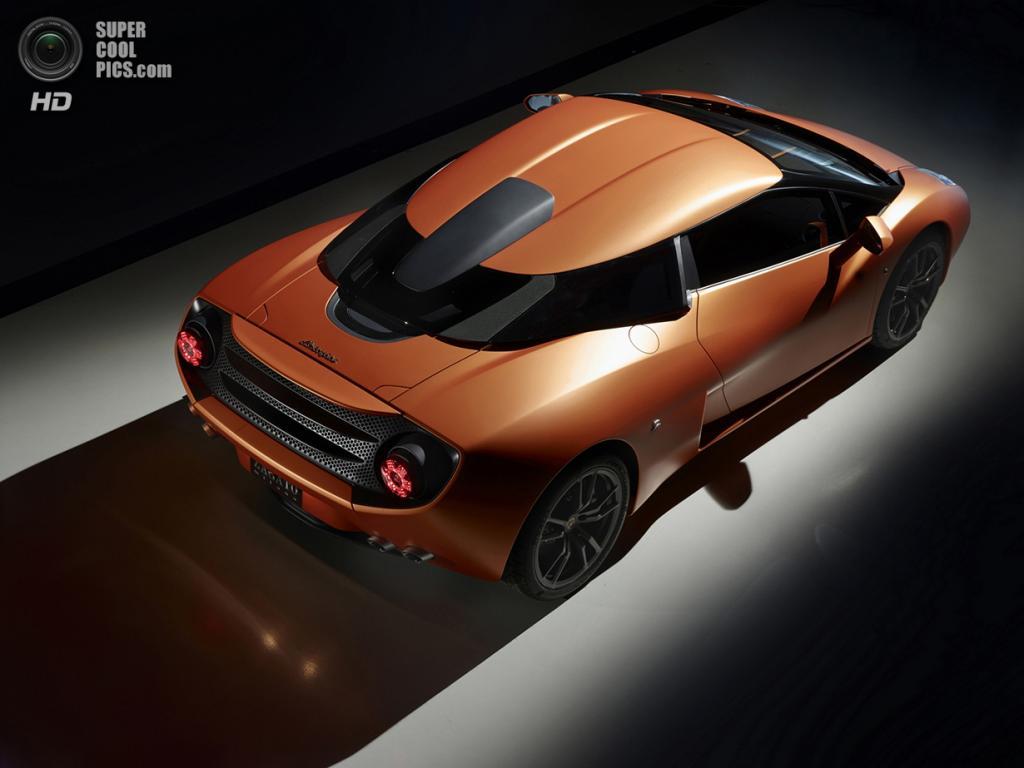 Lamborghini 5-95 Zagato Concept. (Automobili Lamborghini S.p.A./ZED Milano s.r.l.)