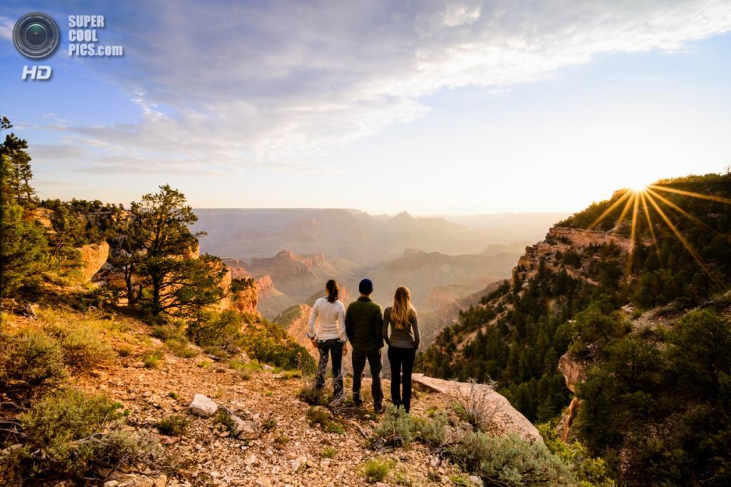 Поощрительный приз: Национальный парк Гранд-Каньон. (Peter Blanchard)