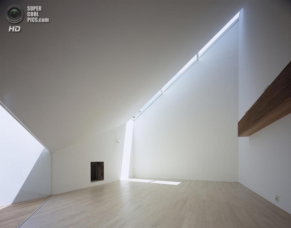 Япония. Сибуя, Токио. Жилой дом A Hill On A House, спроектированный Yuko Nagayama & Associates. (Daici Ano)