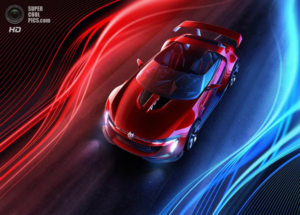 Volkswagen GTI Roadster Concept. (Volkswagen AG)