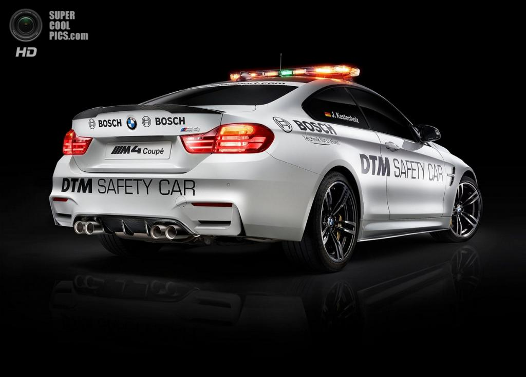BMW M4 Coupé DTM Safety Car. (BMW AG)
