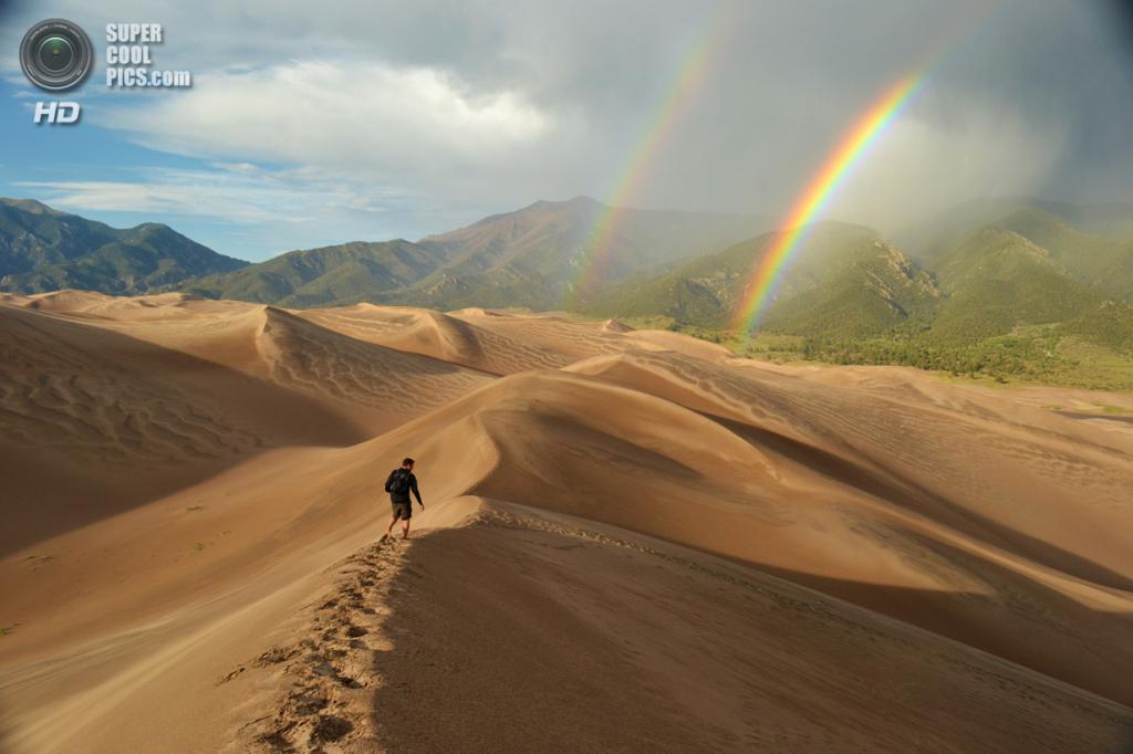 Поощрительный приз: Национальный парк Грейт-Сэнд-Дюнс. (Eric Magayne)