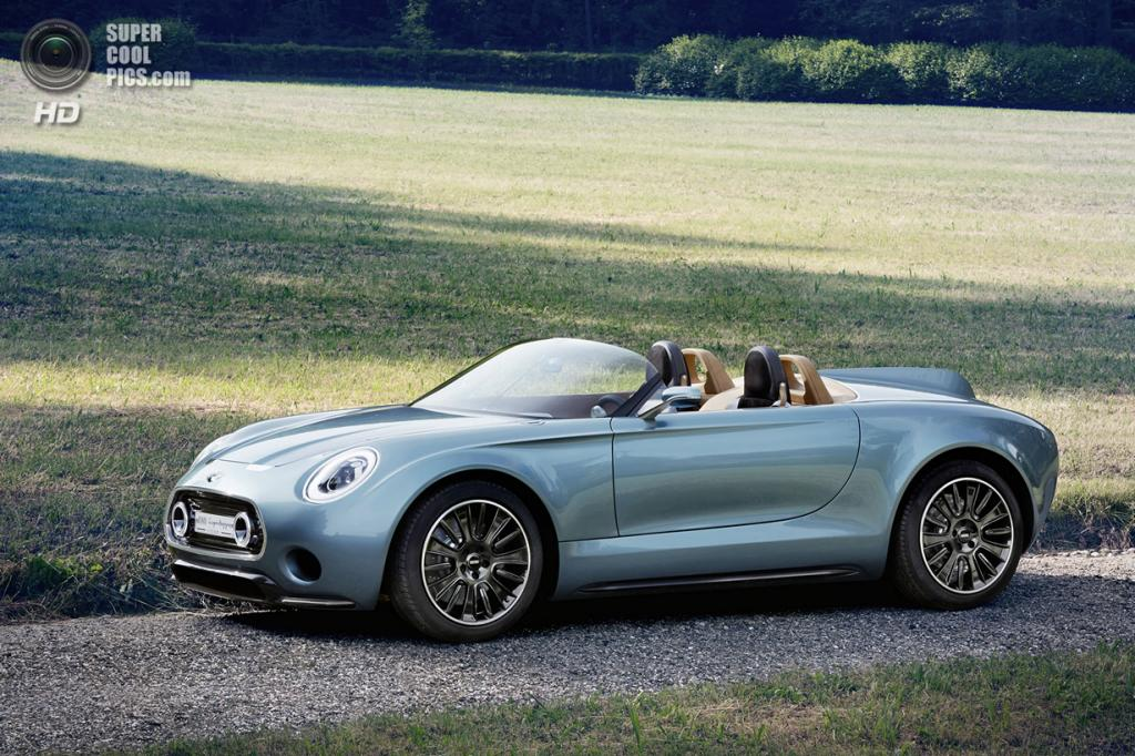 MINI Superleggera Vision Concept. (BMW AG)