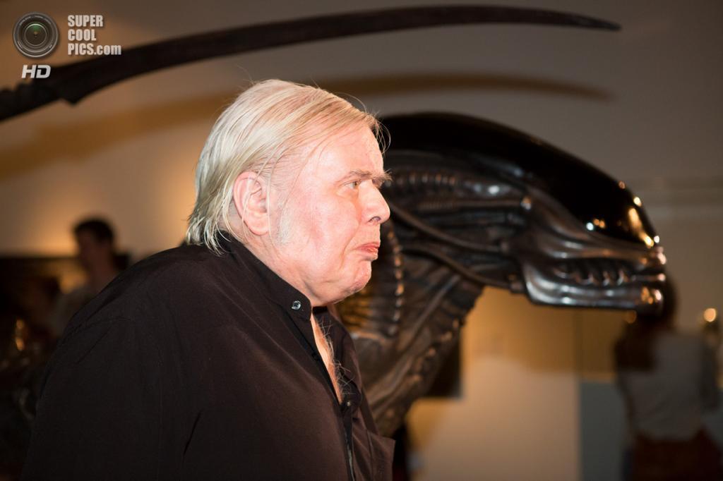 Австрия. Вена. 10 марта 2011 года. Ганс Рудольф Гигер. (EPA/ROBERT JAEGER)