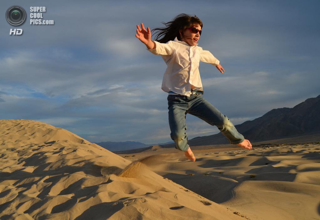 Поощрительный приз: Национальный парк Долина Смерти. (Linnea Charnholm)
