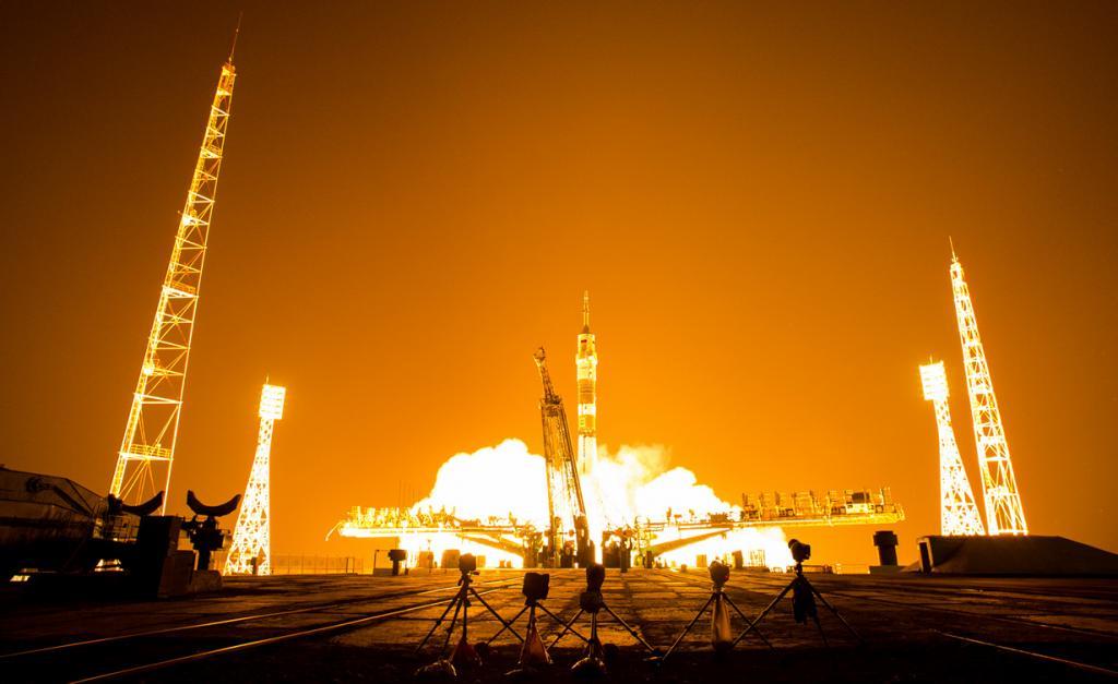 МКС-40. Юбилейный полёт «Союза» (8 фото)