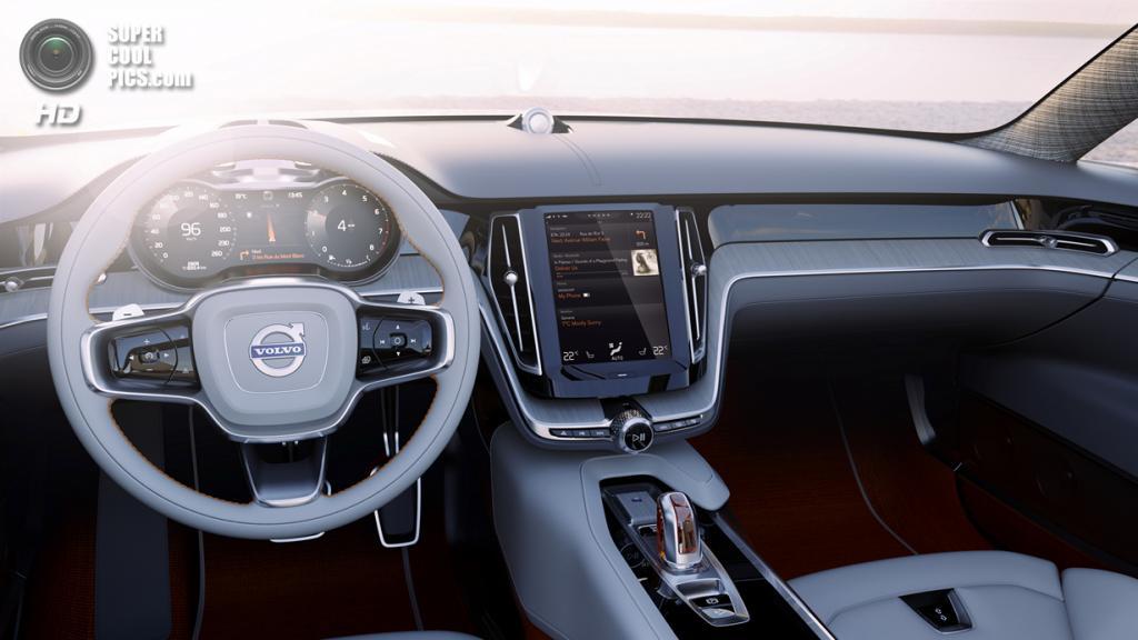 Volvo Concept Estate. (Aktiebolaget Volvo)