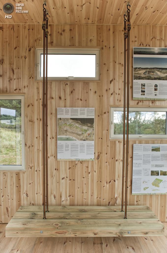 Норвегия. Фарсунн, Вест-Агдер. Обзорная кабина Lyset Paa Lista, спроектированная TYIN Tegnestue. (Pasi Aalto)