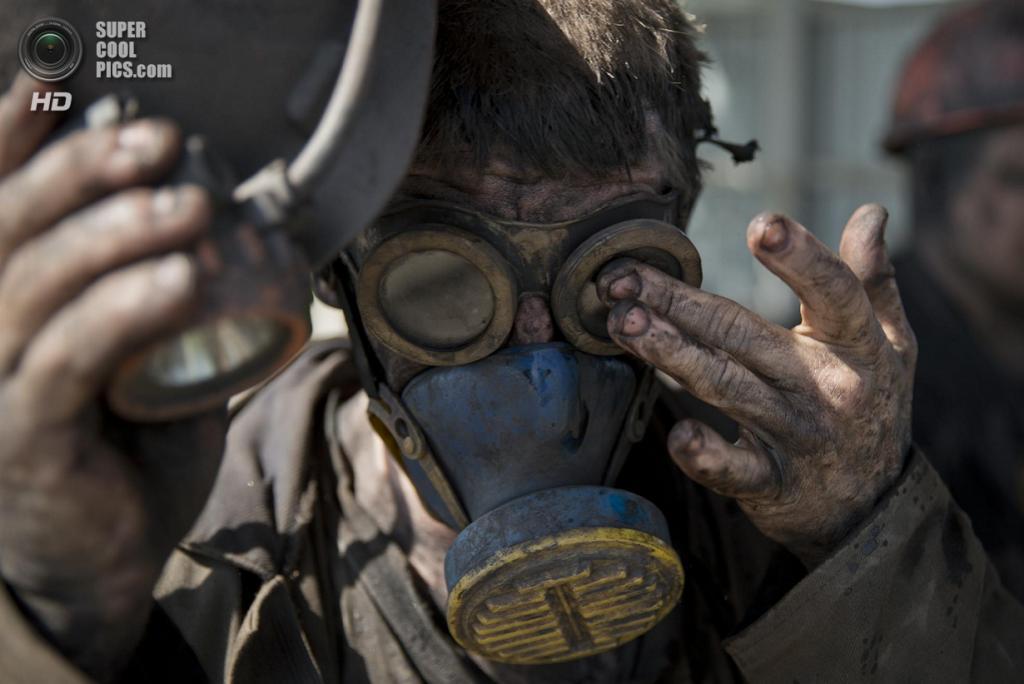 Украина. Донецкая область. 20 мая. (AP Photo/Vadim Ghirda)