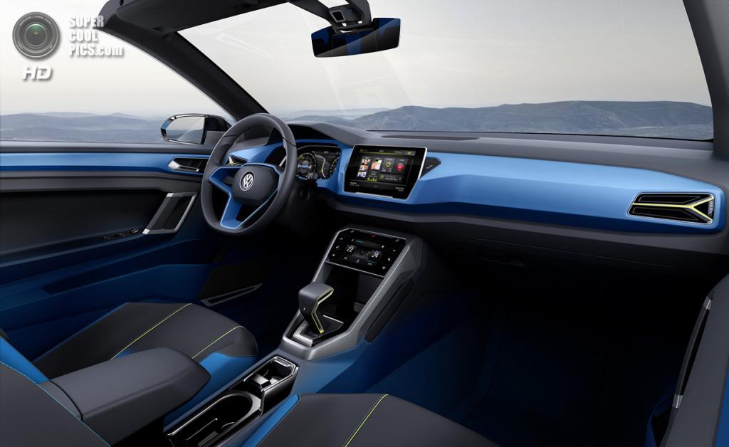 Volkswagen T-Roc Concept. (Volkswagen AG)