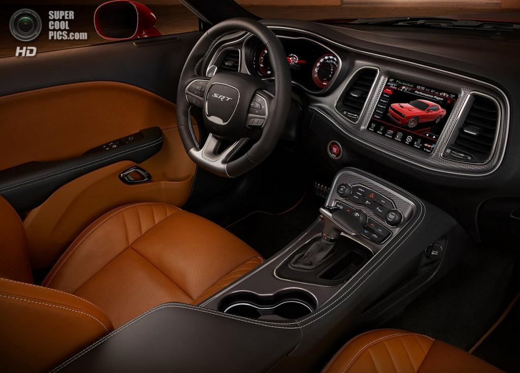 Dodge Challenger SRT Hellcat. (Chrysler Group LLC)