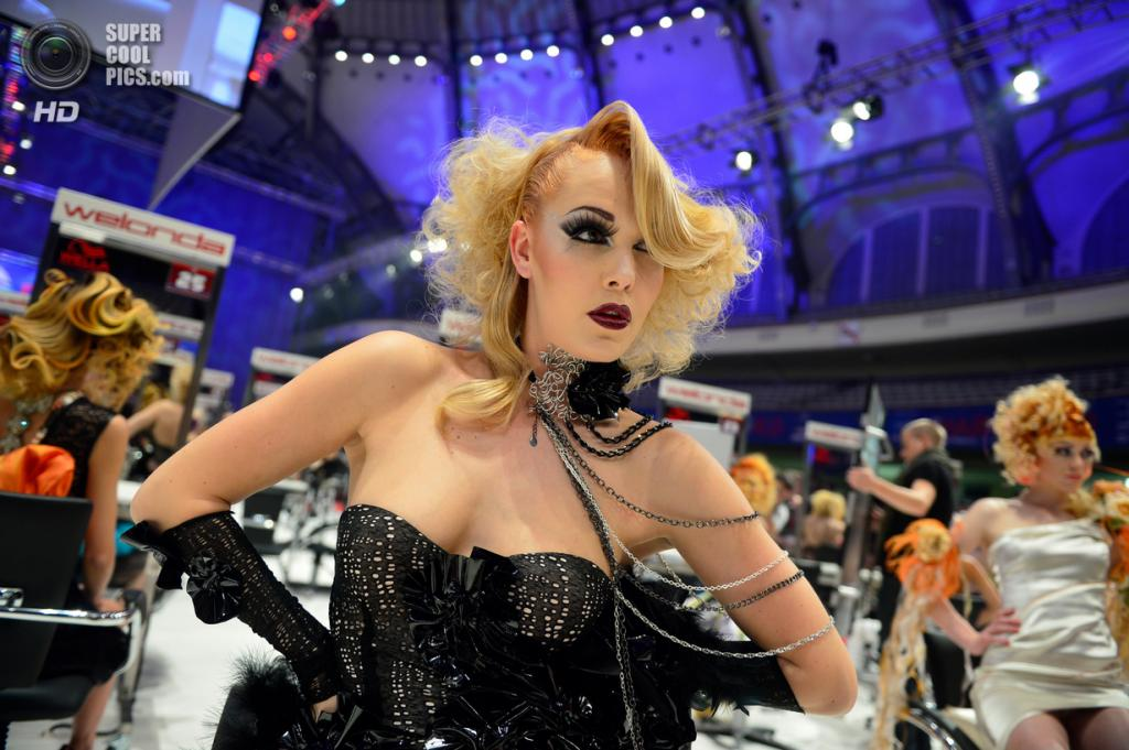 Германия. Франкфурт-на-Майне. 4 мая. Во время Кубка Мира OMC Hairworld. (Thomas Lohnes/Getty Images)