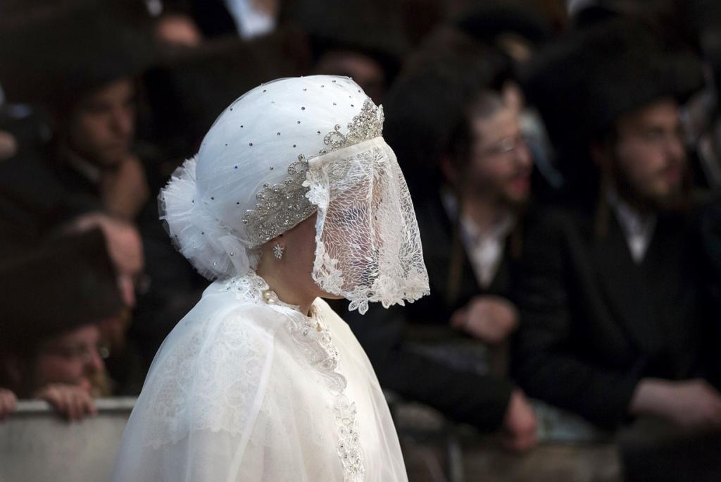 Свадьба Бельзских хасидов (7 фото)