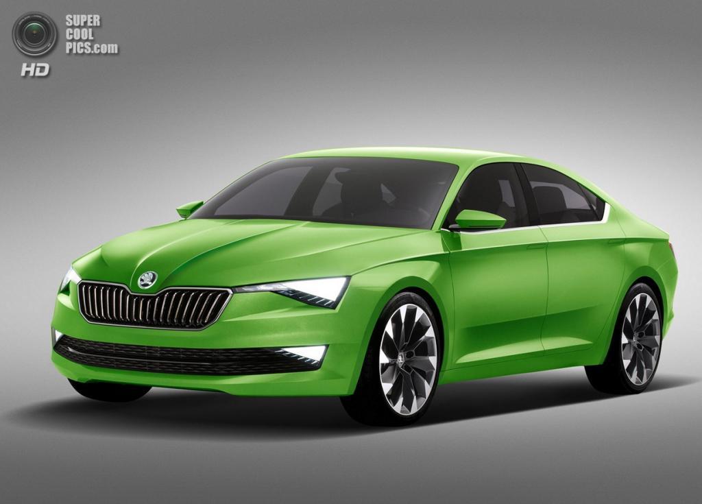 Škoda VisionC Concept. (Škoda Auto)