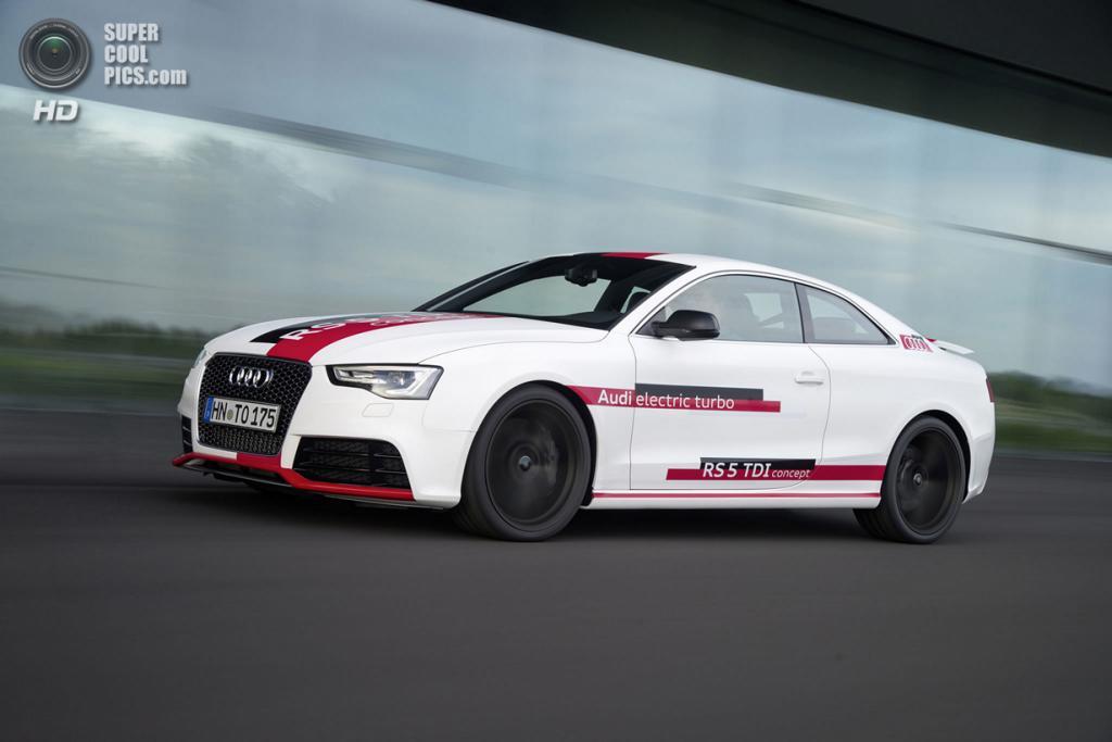 Audi RS5 TDI Concept. (Audi AG)