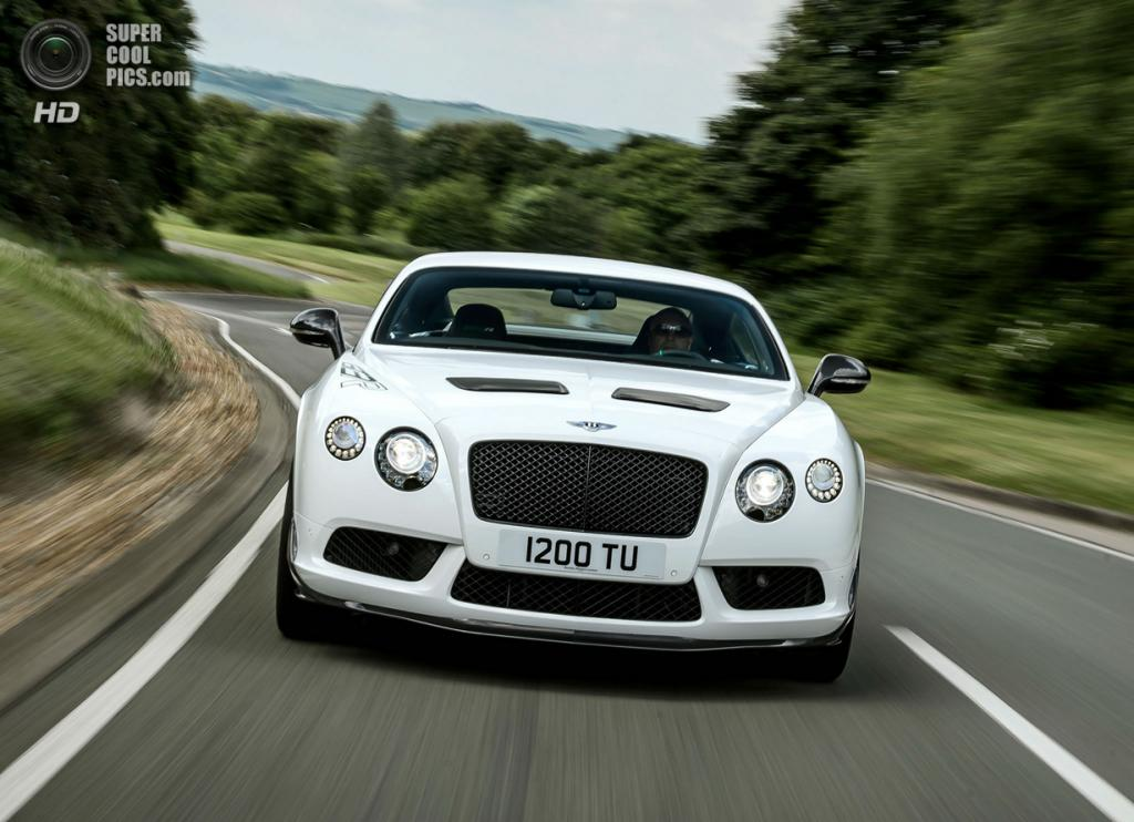 Bentley Continental GT3R. Bentley Motors Ltd.