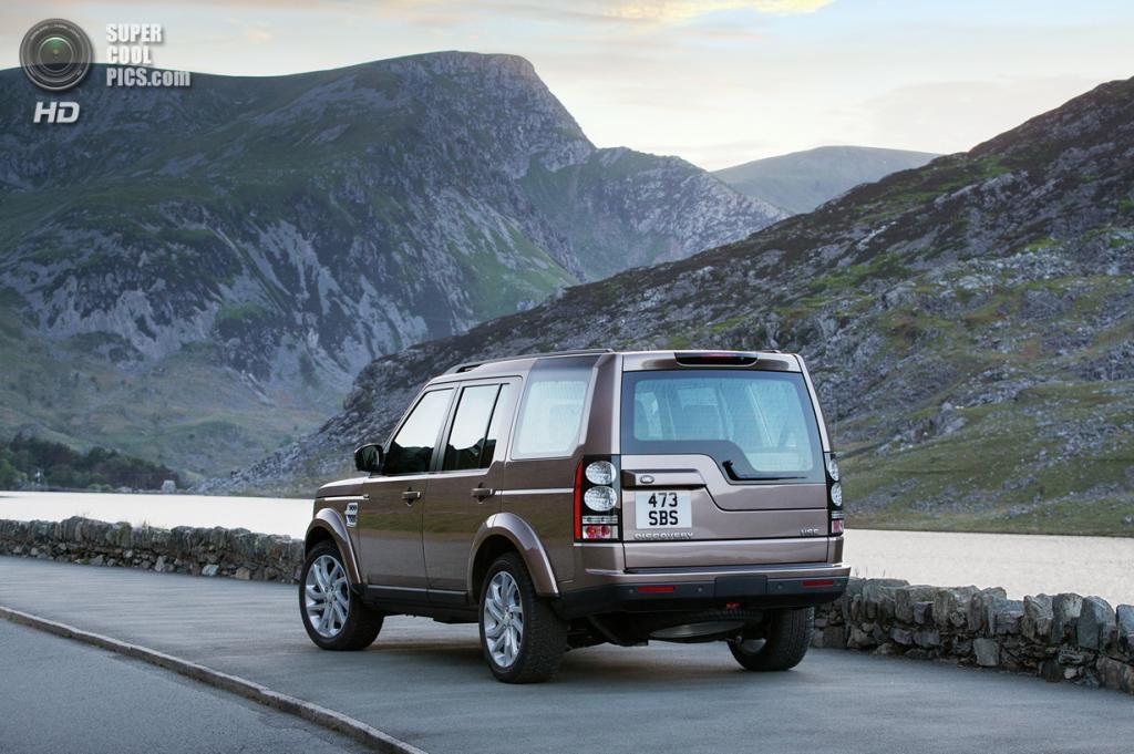 Land Rover Discovery SDV6. (Jaguar Land Rover)