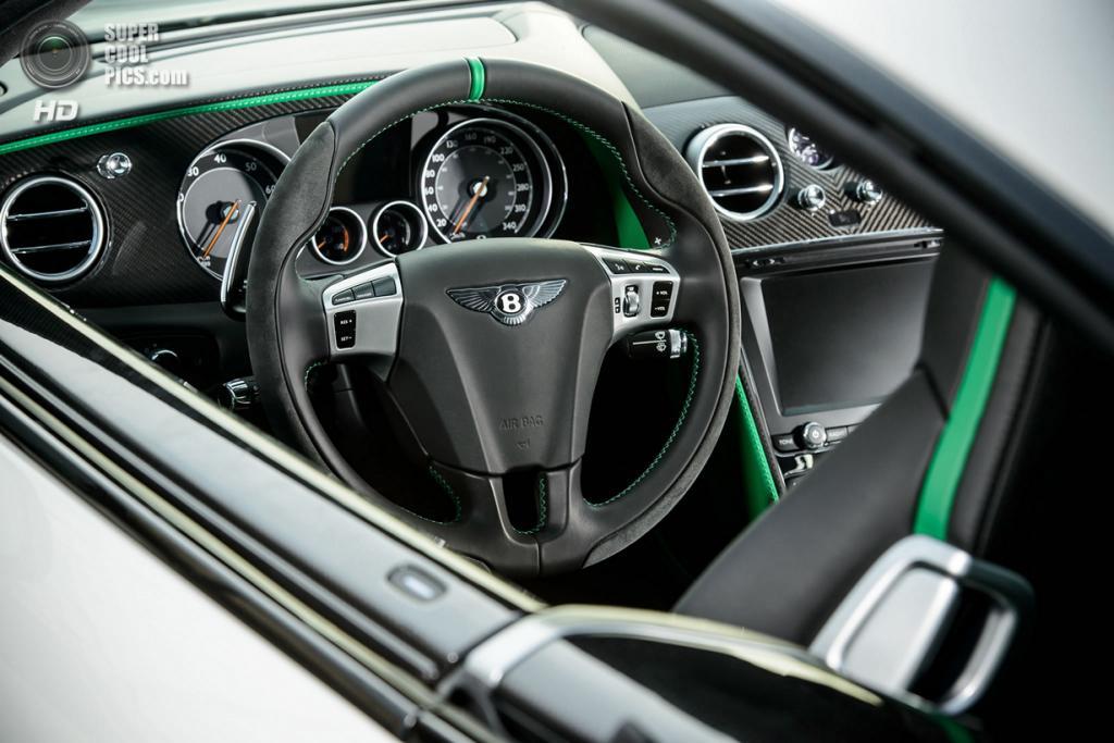 Bentley Continental GT3-R. (Bentley Motors Ltd.)