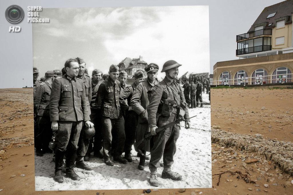 Немецкие военнопленные в Берньер-сюр-Мере. (Peter Macdiarmid/Getty Images; Galerie Bilderwelt/Getty Images)
