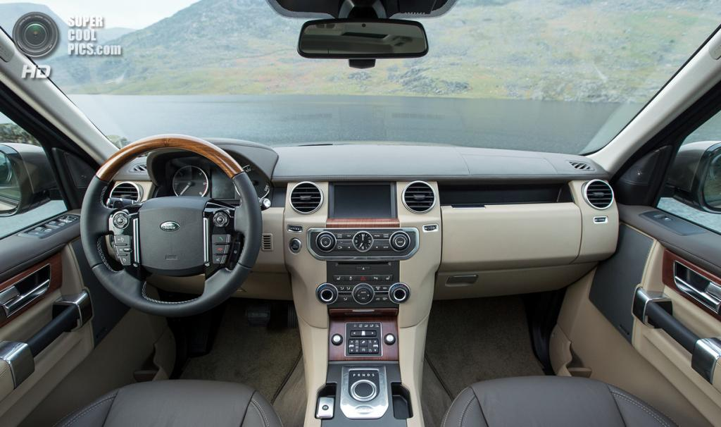 Land Rover Discovery SDV6. (Jaguar Land Rover)