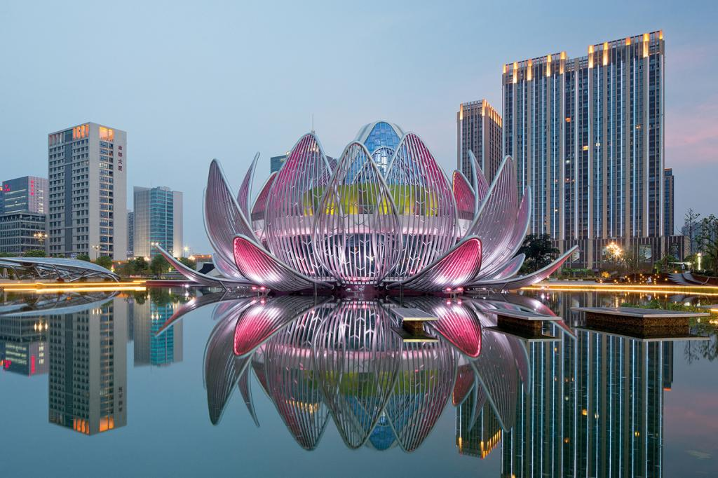 Китай. Чанчжоу, Цзянсу. Здание «Ляньхуа», спроектированное studio505. (John Gollings)