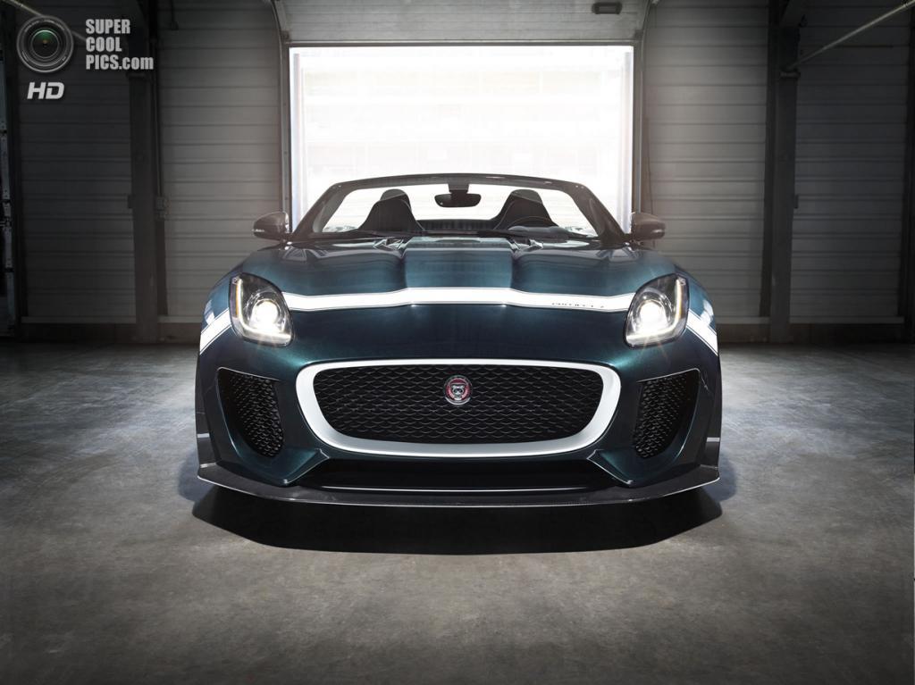 Jaguar F-Type Project 7. (Jaguar Land Rover)