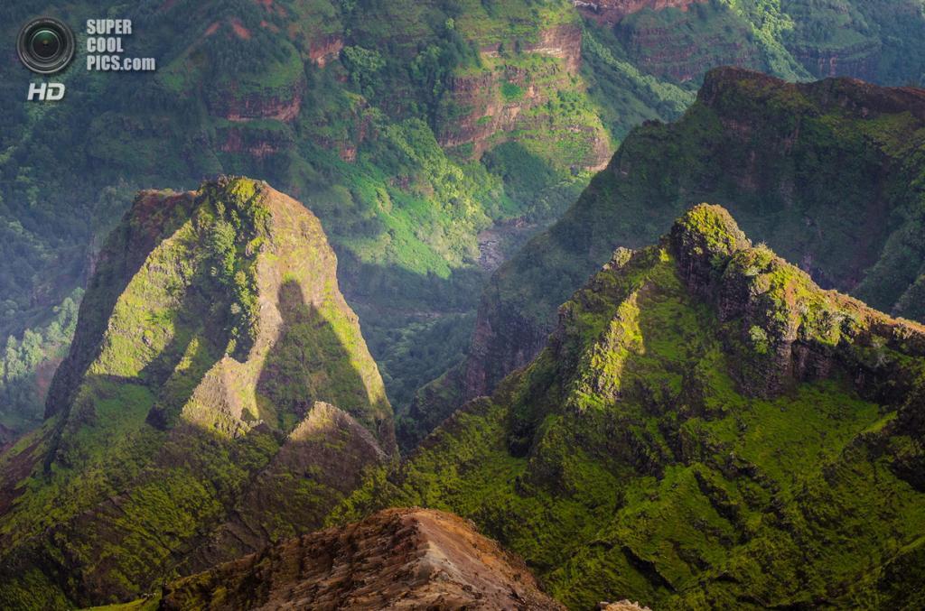 США. Кауаи, Гавайские острова. Каньон Ваймеа. (Jaden Nyberg)