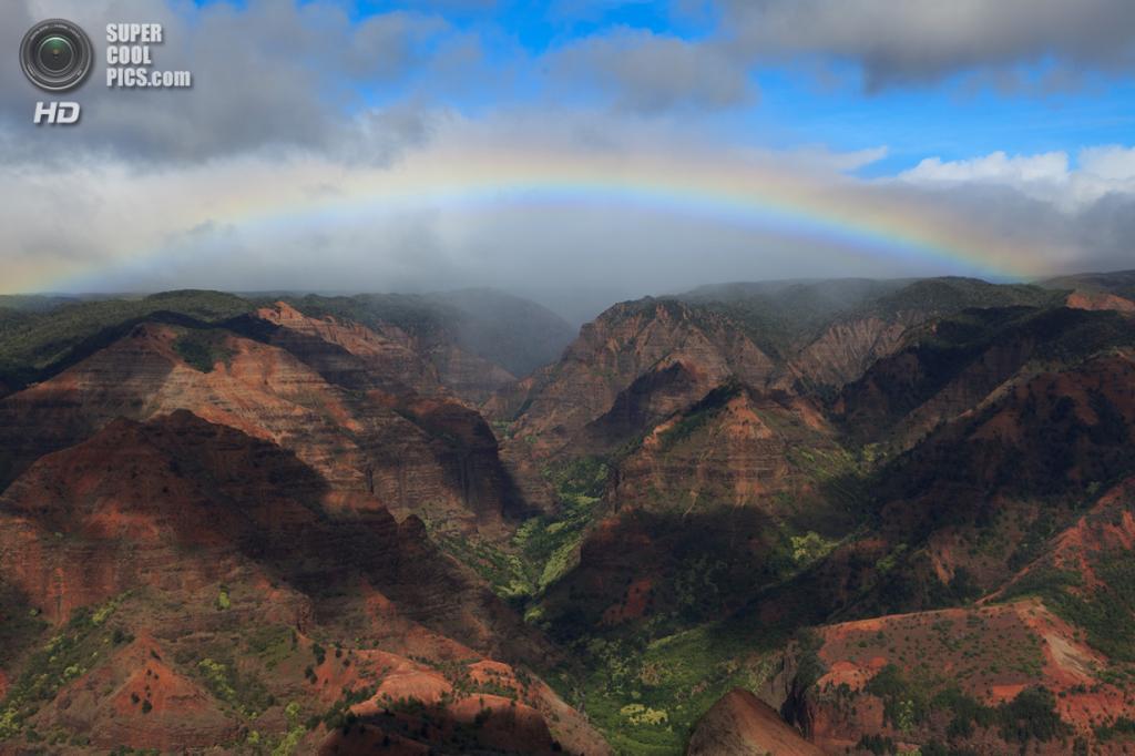 США. Кауаи, Гавайские острова. Каньон Ваймеа. (Chris D)