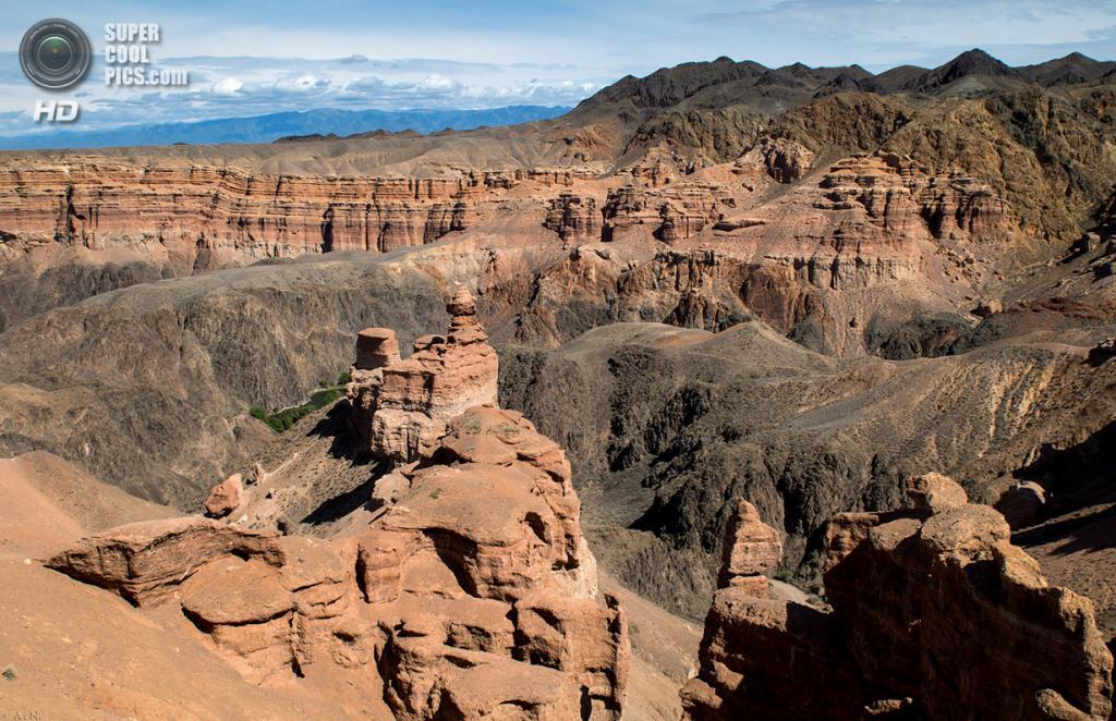 7 место. Казахстан. Чарынский каньон. (Sharyn Canyon)