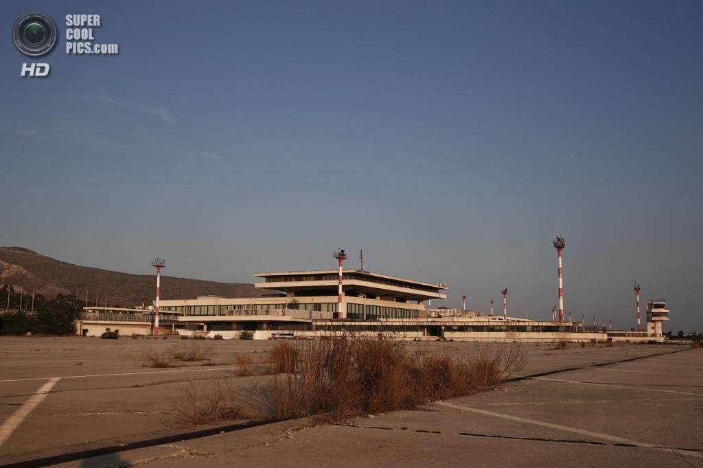 Греция. Афины. 16 июня. Общий вид на Восточный терминал. (REUTERS/Yorgos Karahalis)