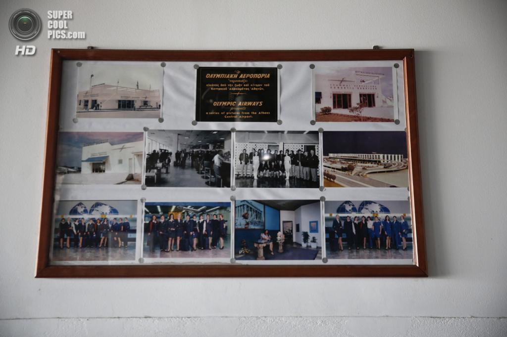 Греция. Афины. 16 июня. Фотографии в выставочном зале. (REUTERS/Yorgos Karahalis)