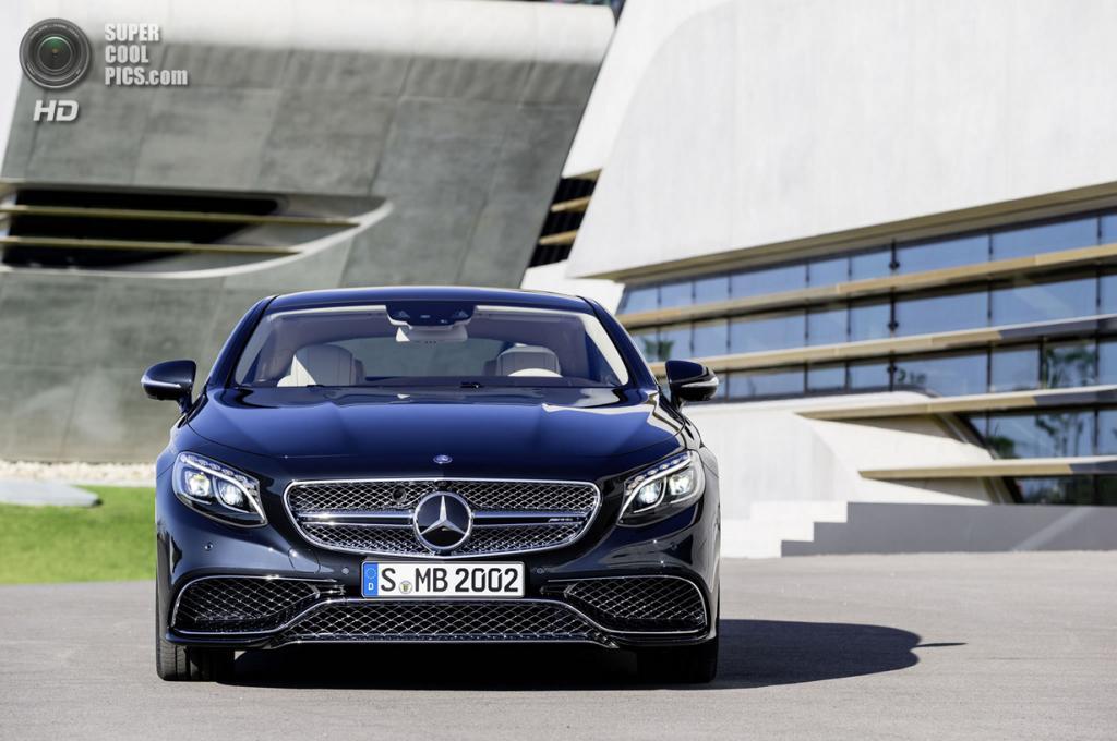 Mercedes-Benz S 65 AMG Coupé. (Daimler AG)