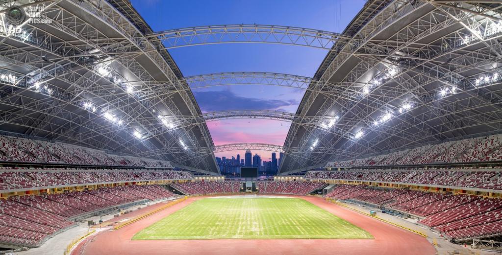 Сингапур. Спортивный комплекс Singapore Sports Hub, спроектированный DP Architects. (DP Architects)