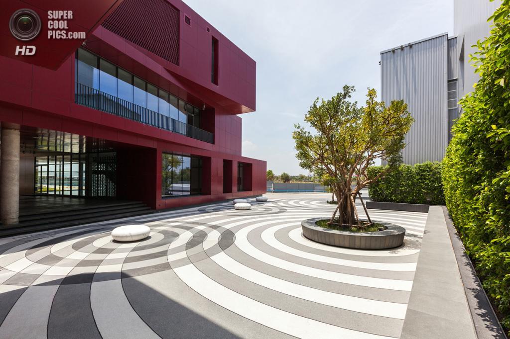Штаб-квартира тайской ресторанной фирмы MK Restaurants. (Spaceshift Studio)