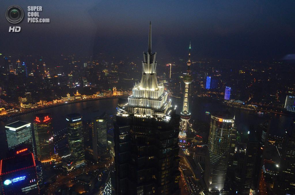 7. Башня «Цзинь-Мао», Шанхай. Высота: 421 м. Введение в эксплуатацию: 1999 год. (Andrea Paraggio)