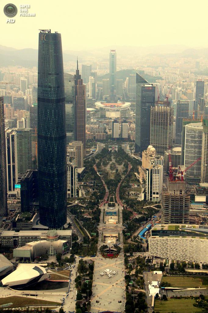 6. Международный финансовый центр, Гуанчжоу. Высота: 440 м. Введение в эксплуатацию: 2010 год. (wyliepoon)