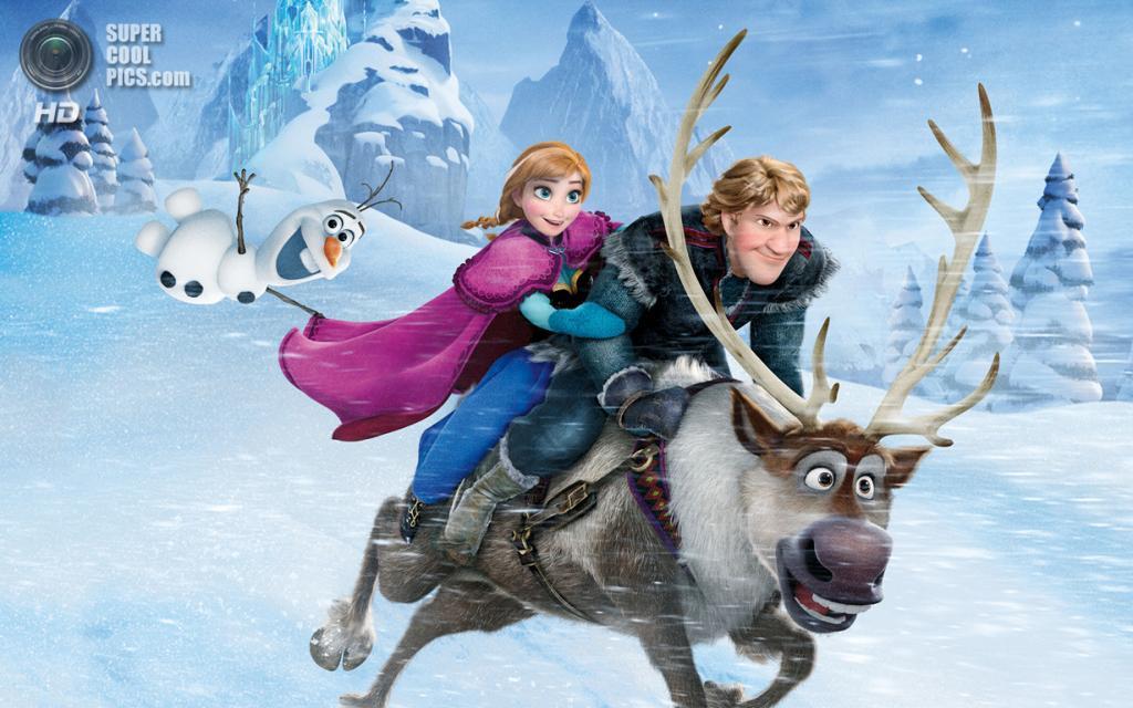 5 место. «Холодное сердце» режиссёров Криса Бака и Дженнифер Ли. Мировые сборы: $1 267 838 009. (Walt Disney Animation Studios)