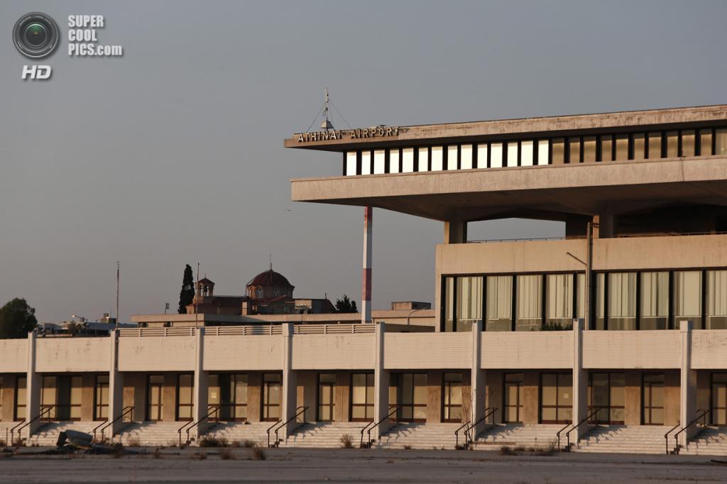 Греция. Афины. 16 июня. Восточный терминал. (REUTERS/Yorgos Karahalis)