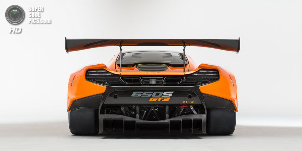 McLaren 650S GT3. (McLaren Automotive Ltd.)