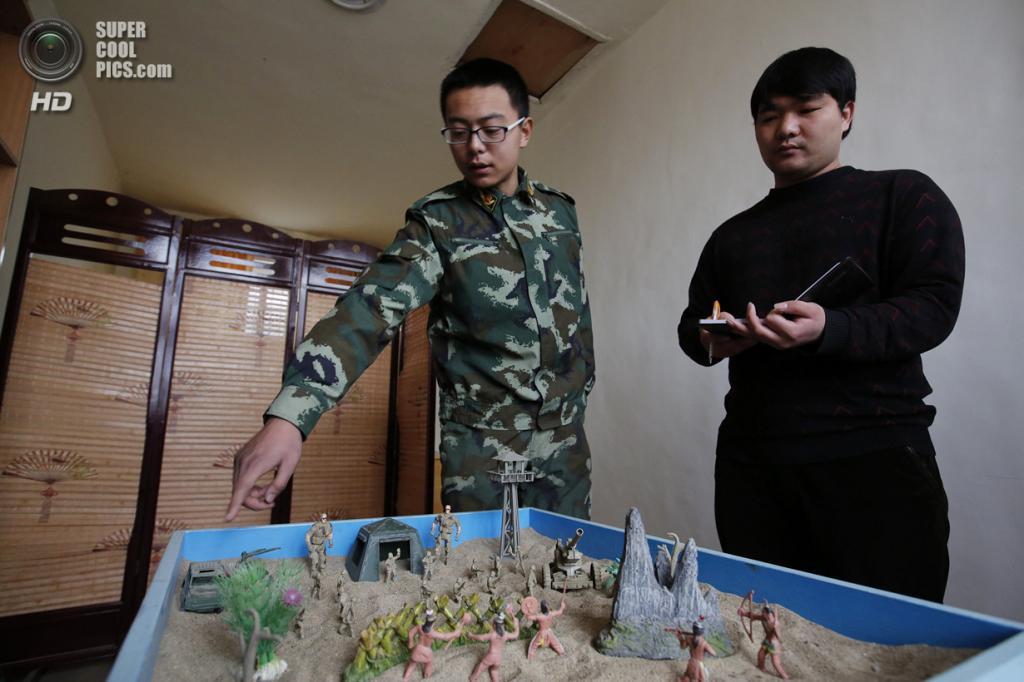 Китай. Пекин. 26 февраля. Во время сеанса у психотерапевта. (REUTERS/Kim Kyung-Hoon)