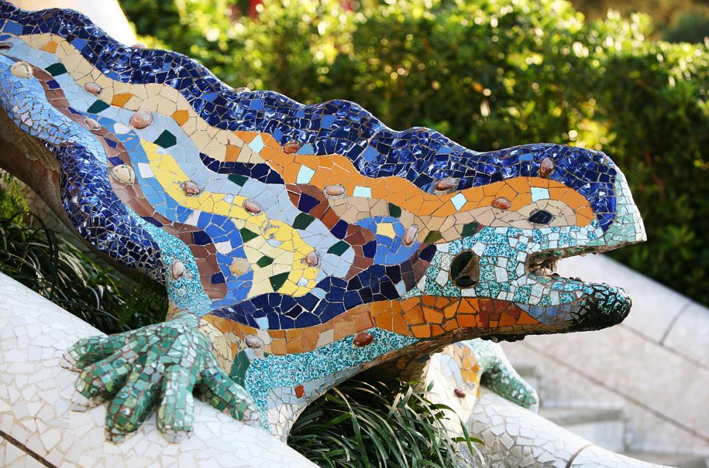 Парк Гуэля входит в Список Всемирного наследия ЮНЕСКО. (Ajuntament Barcelona)