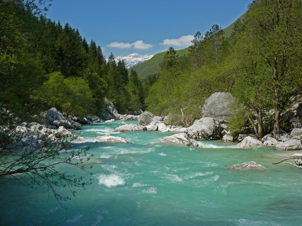 Река Соча. (Giulio)