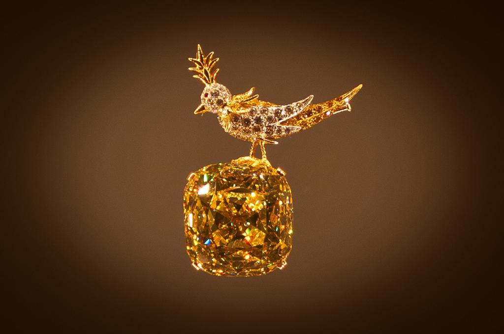 Алмаз (Жёлтый алмаз Тиффани). (Alex Banakas)