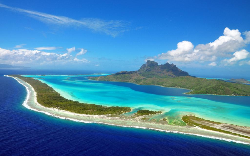 Тихий океан. Остров Бора-Бора. (Mushi27)
